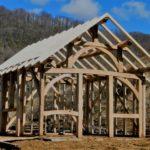 Cabane en charpente traditionnelle